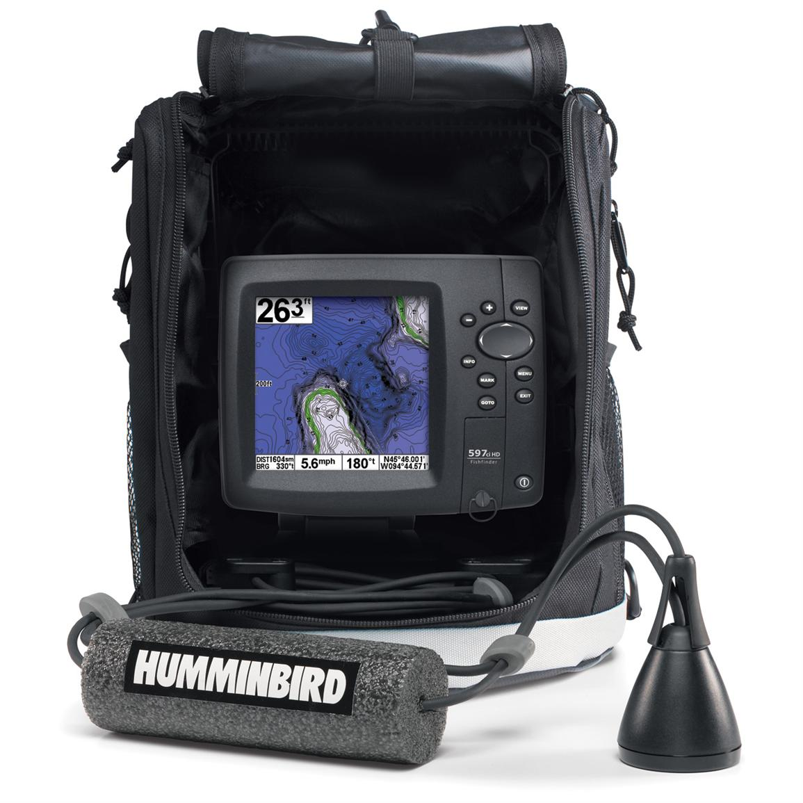 Humminbird® ICE 597ci HD Flasher Fishfinder & GPS Combo