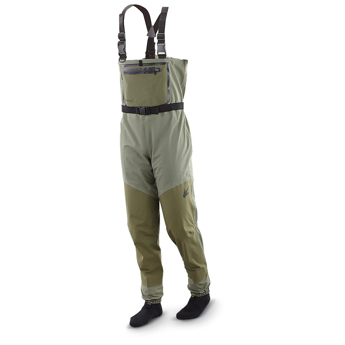 frogg toggs® Anura™ Breathable Stocking Foot Waders, Taupe / Sand