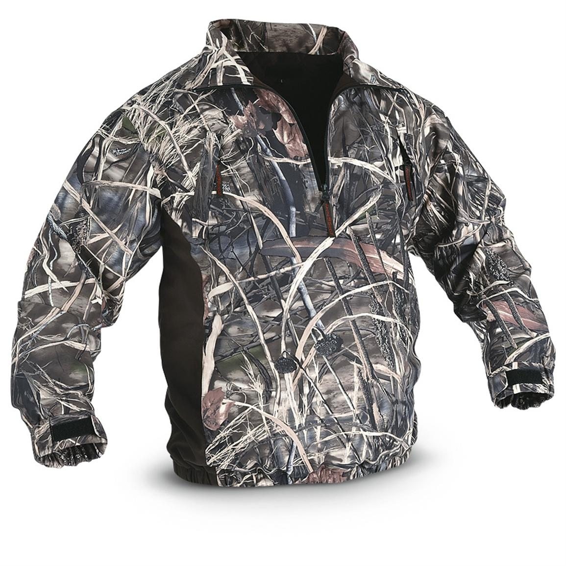 Onyx™ ArcticShield Reversible Waterfowl Waterproof Pullover, Realtree® Max-4™