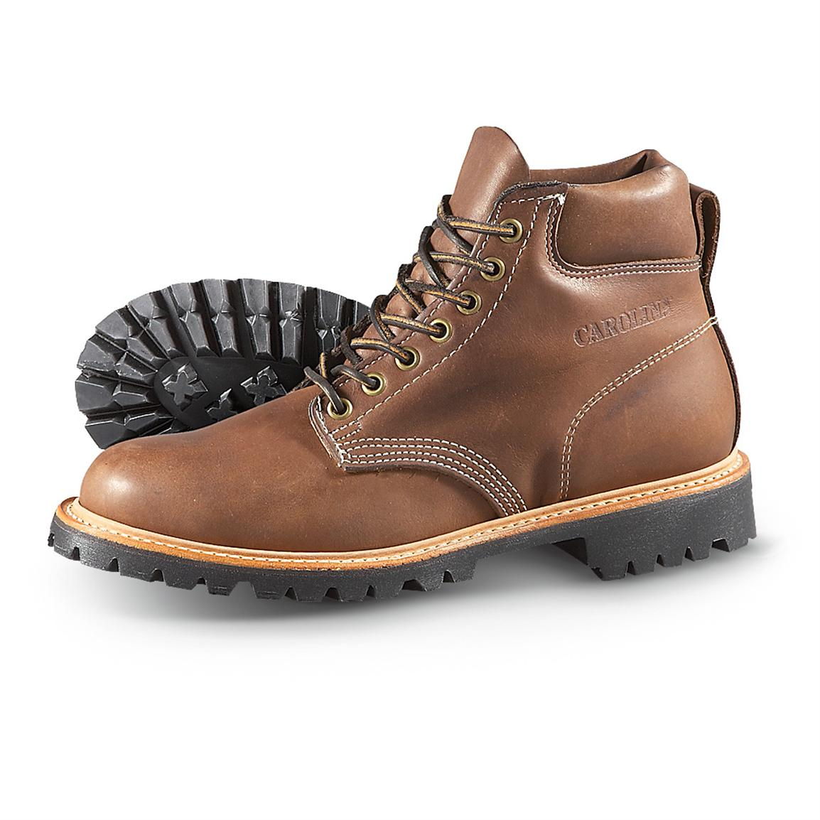 Men's Carolina® 6 inch City Work Boots, Brown