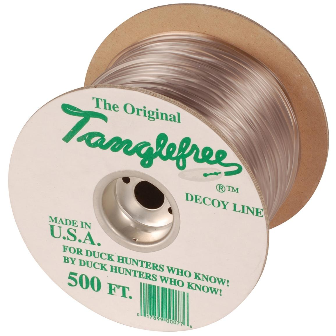 500 ft. of Tanglefree® Original Decoy Line, Clear