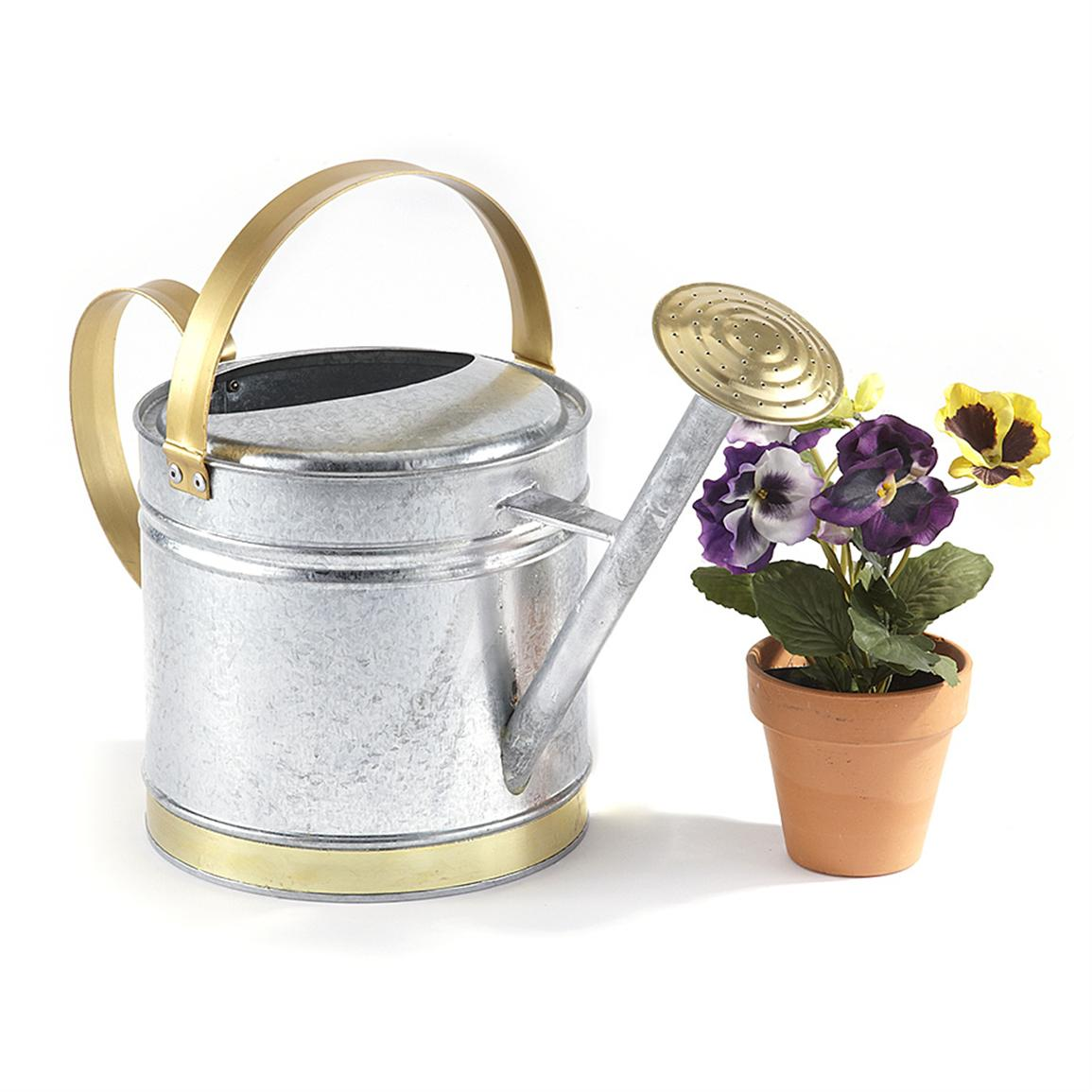10-quart Steel Watering Can