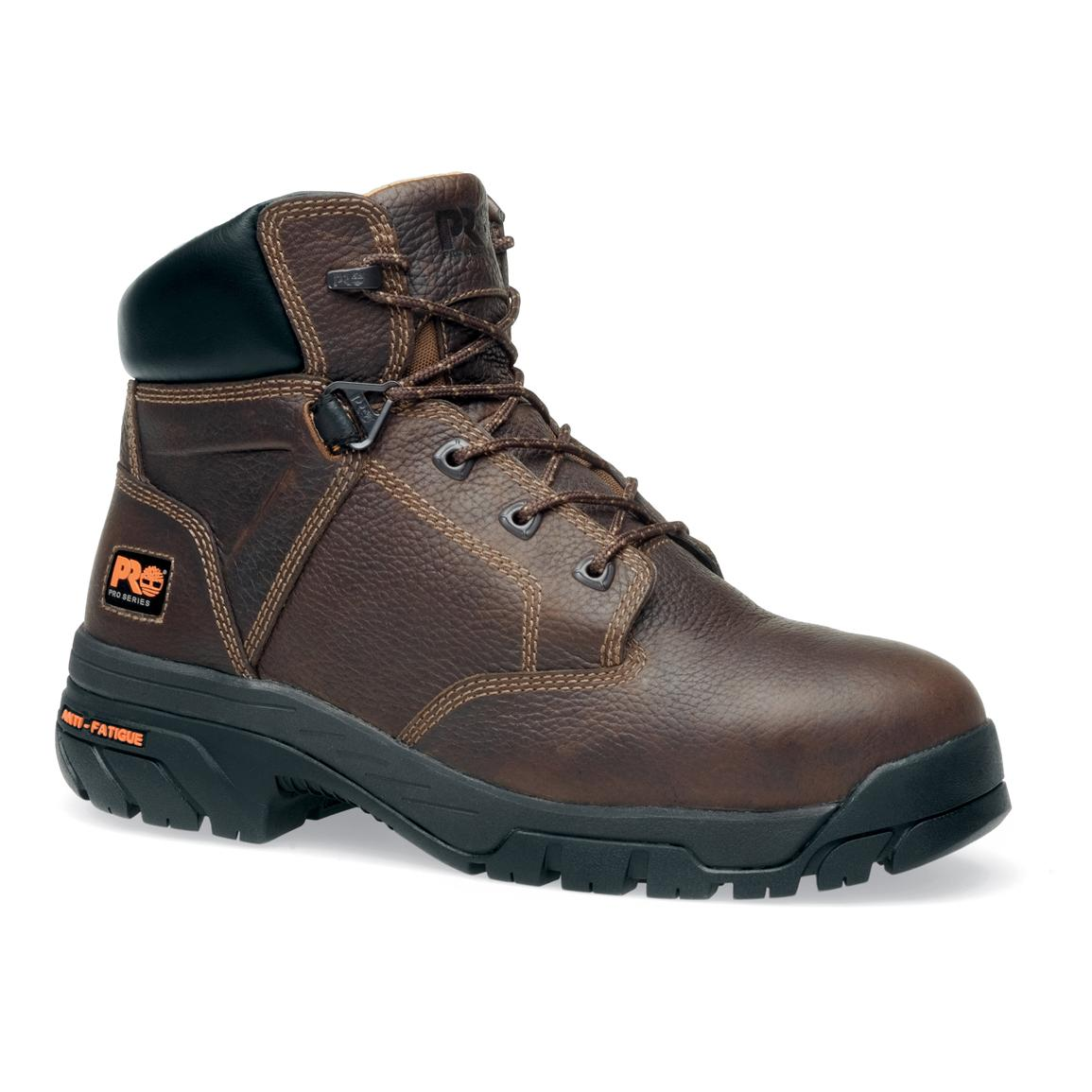 Men's 6 inch Timberland Pro® Helix™ Boots, Brown