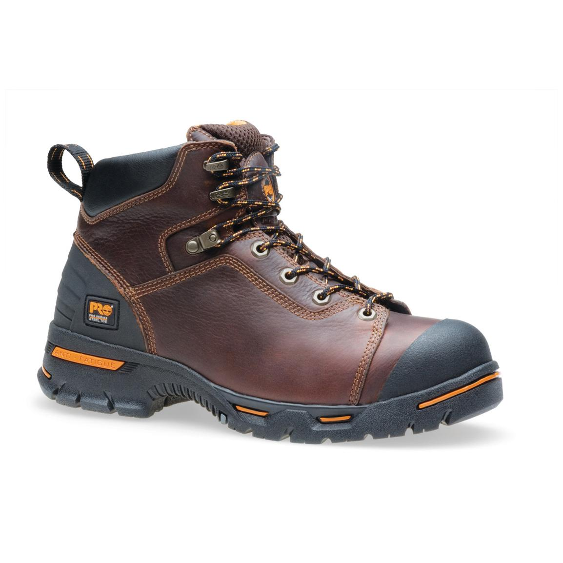 "Men's 6"" Timberland Pro® Endurance™ Steel Toe Boots, Briar"