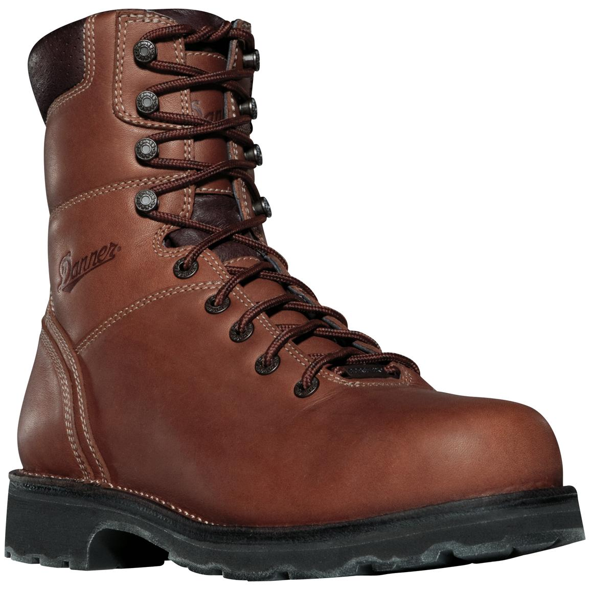 "Men's 8"" Danner® GORE-TEX® 400-gram Thinsulate™ Insulation Work Boots, Non-metallic Toe"