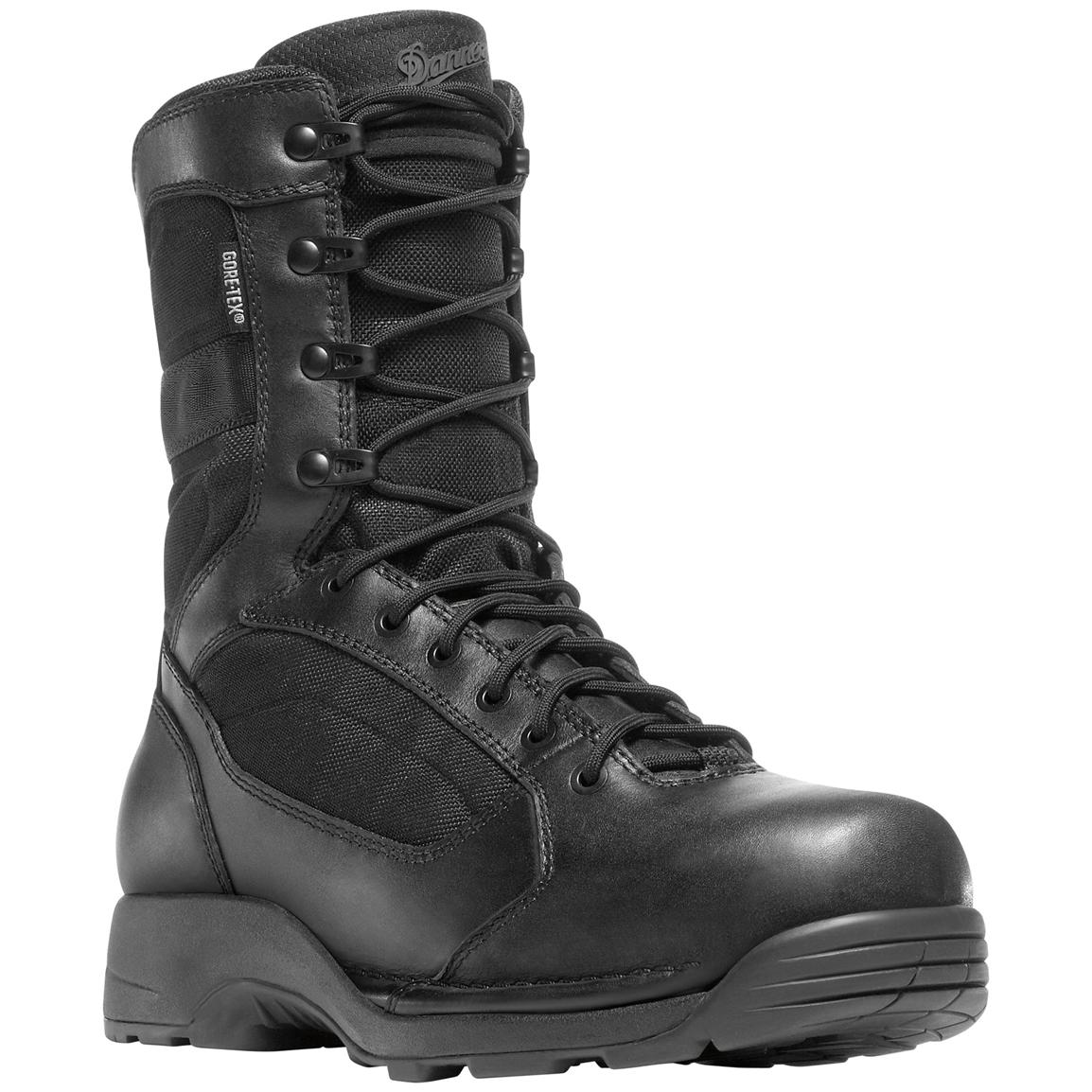 Men's 8 inch Danner® Striker® Torrent GTX® Side-zip Uniform Boots, Black