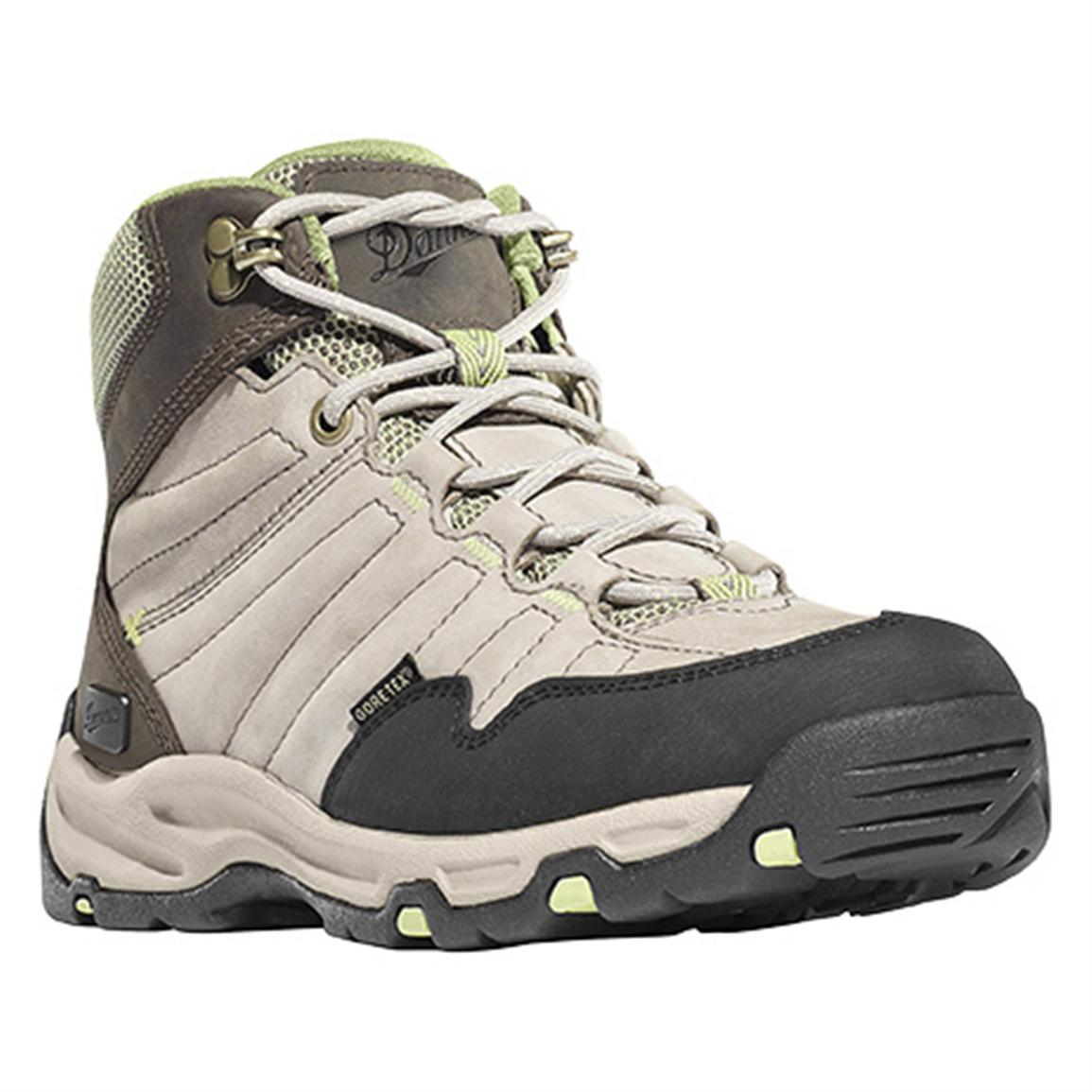 "Women's Danner® 6"" Nobo Mid GORE-TEX® Hiking Boots, Taupe / Green"