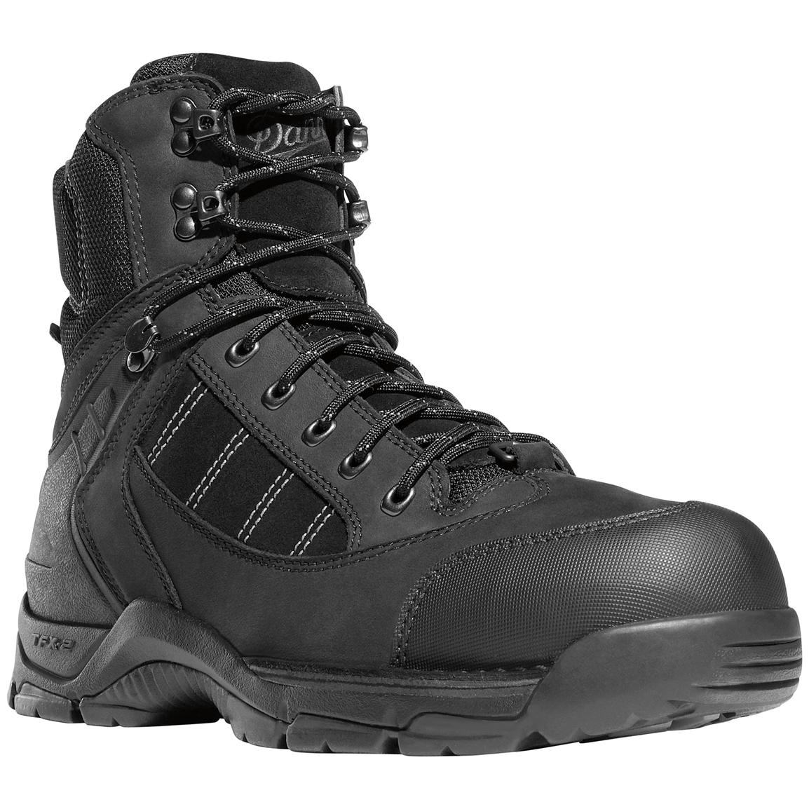 "Danner® 7"" Roughhouse Mountain GORE-TEX® 400 gram Thinsulate™ Insulation Hiking Boots, Black"