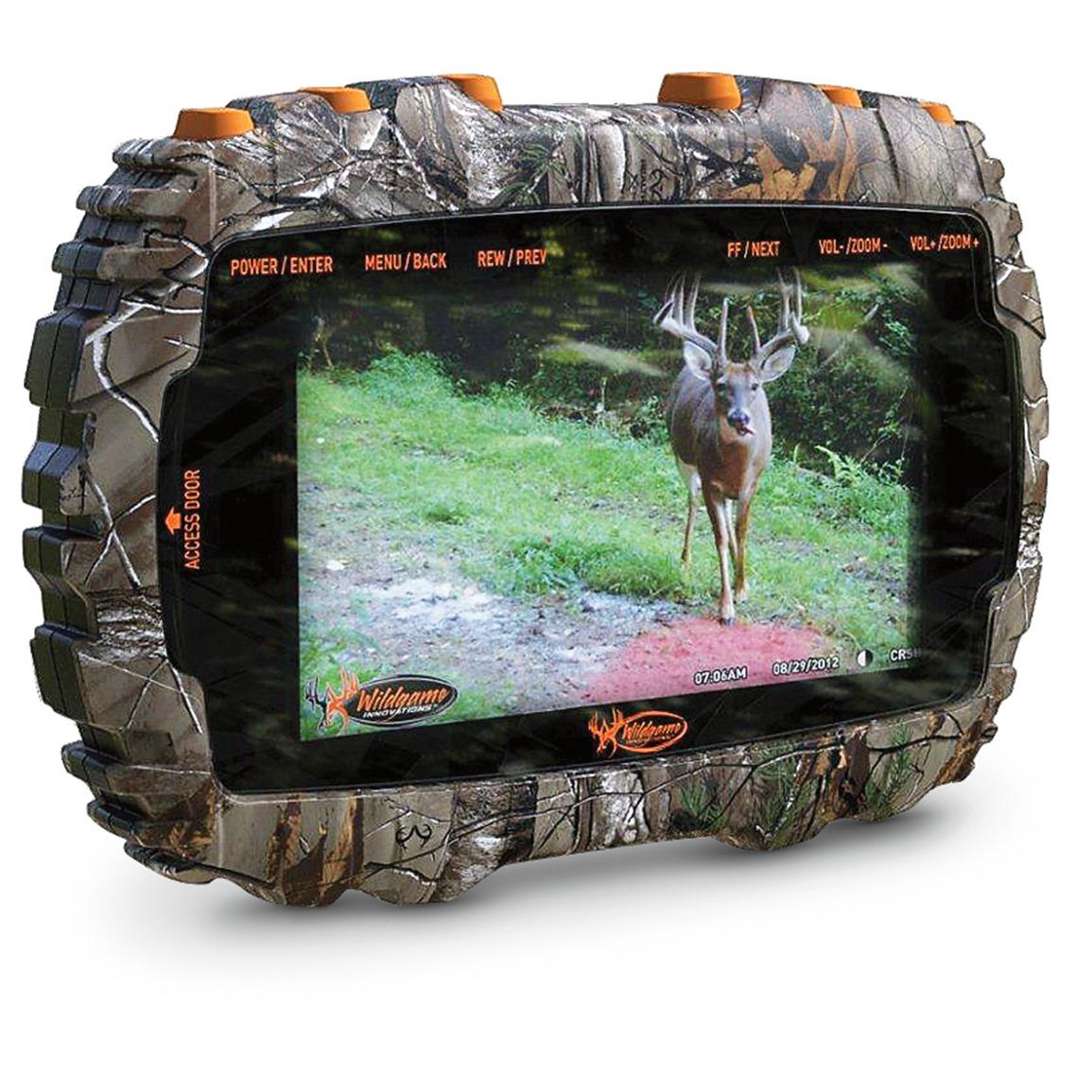 Wildgame Trail Pad Media Viewer
