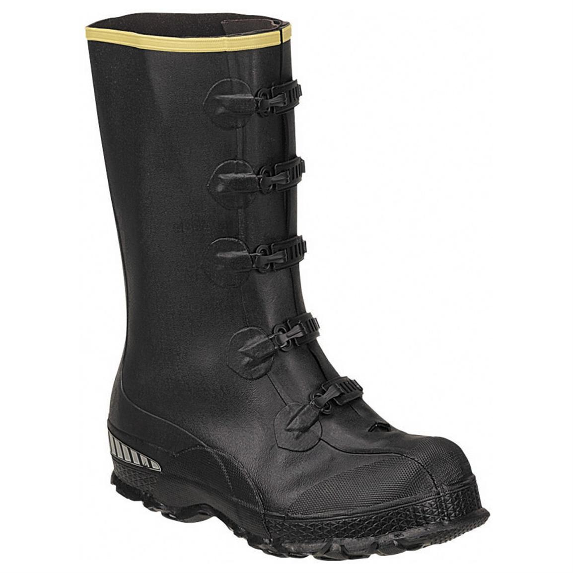 Men's LaCrosse® 14 inch ZXT™ Buckle Series Overshoe Work Boots, Black
