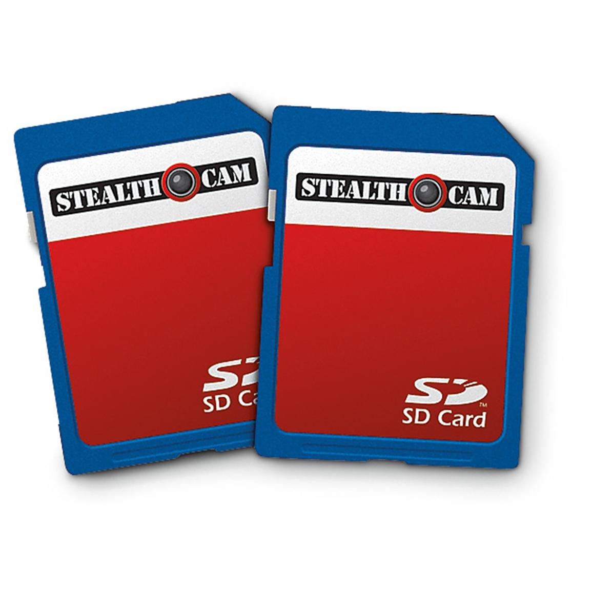 2 Stealth Cam® 2GB Memory Cards