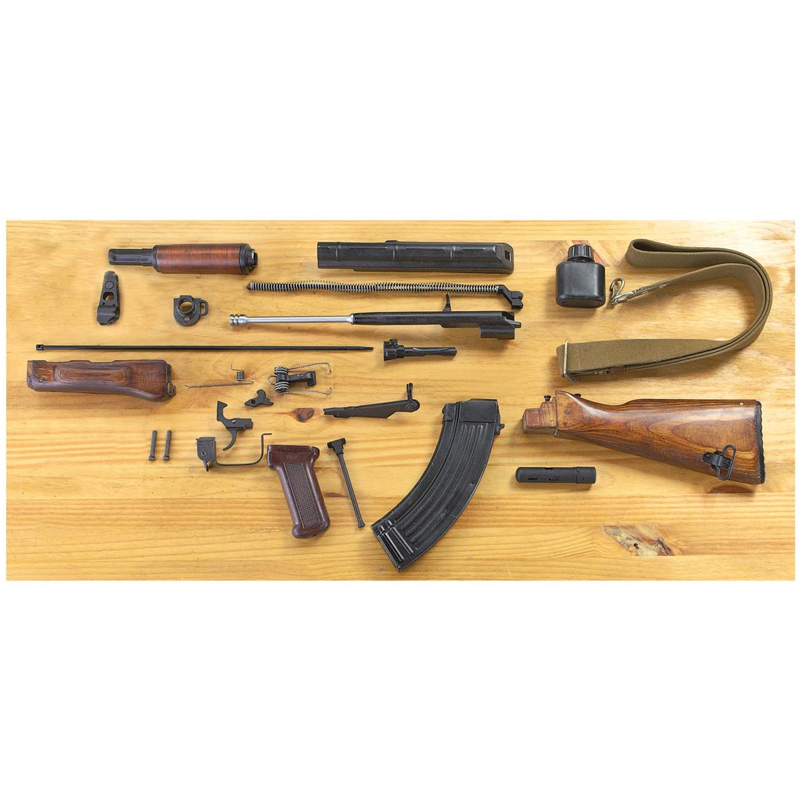 Used Bulgarian AK-47 Replacement Parts Kit