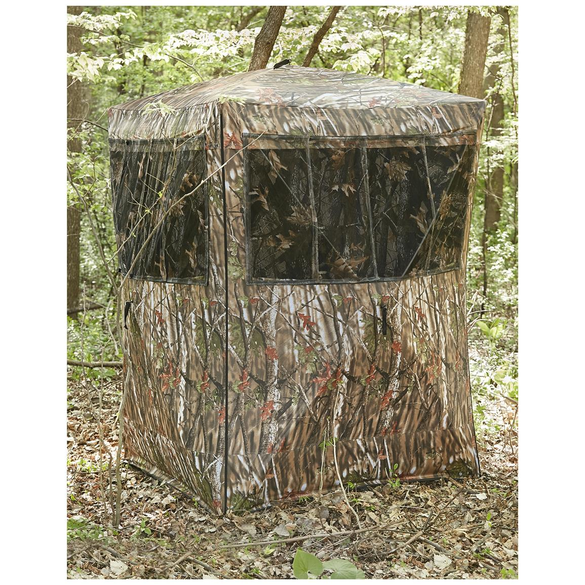 Guide Gear Oversized Ground Hunting Blind 285091 Ground