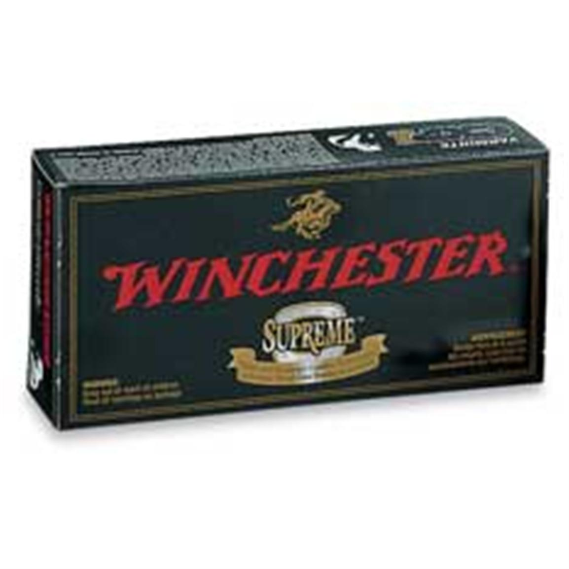 Winchester Supreme Ballistic Silvertip Rifle Cartridges