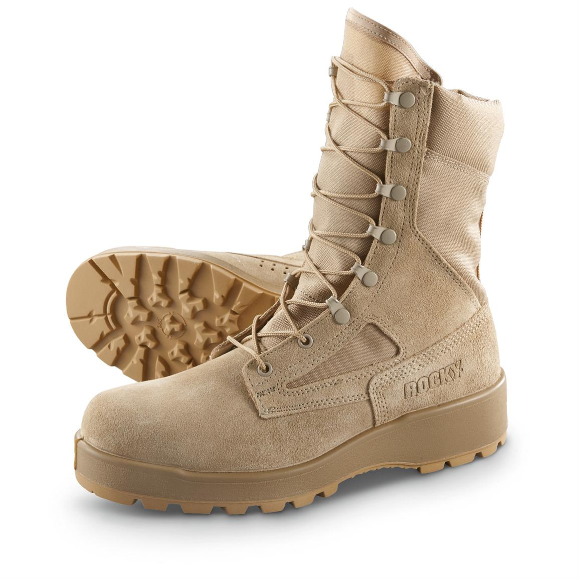 Men's Rocky® Hot Weather Boots, Sand