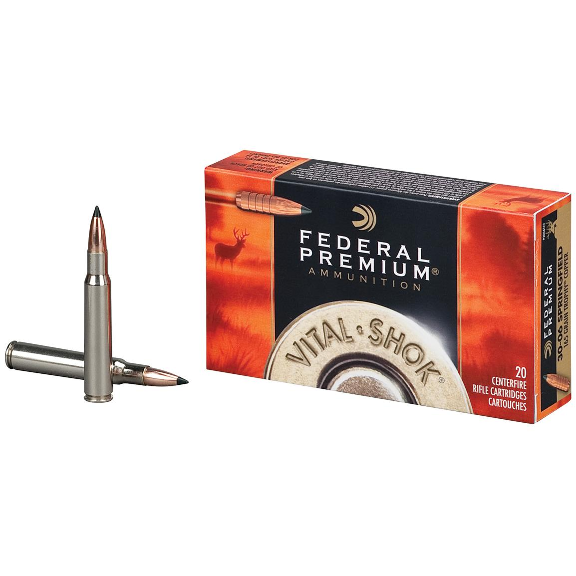 Federal Premium® Trophy® Copper Vital Shok Ammo
