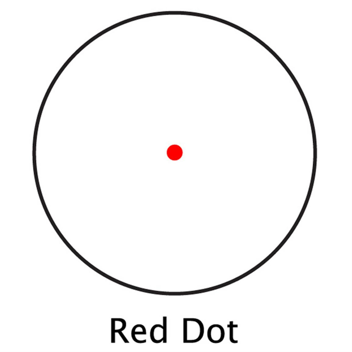 5 MOA Red Dot Reticle