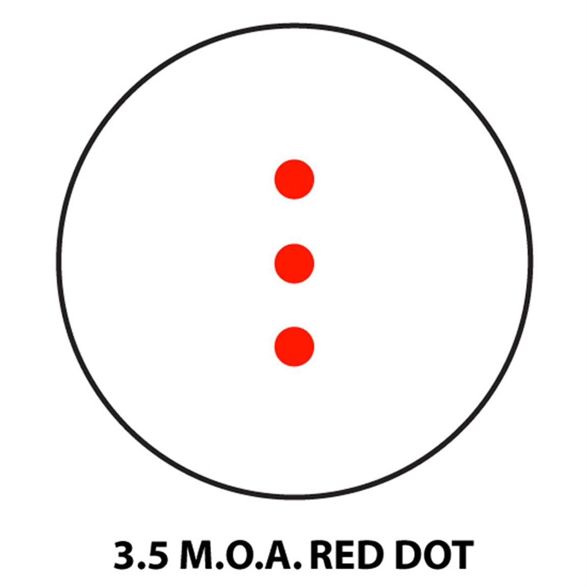 3.5 MOA Red Dot Reticle