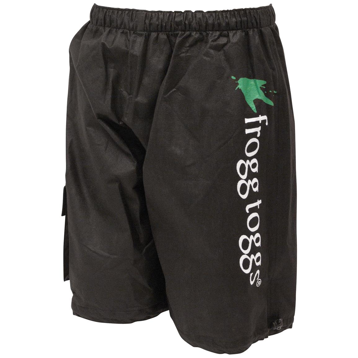 frogg toggs® All Sports™ Waterproof / Breathable Shorts, Black