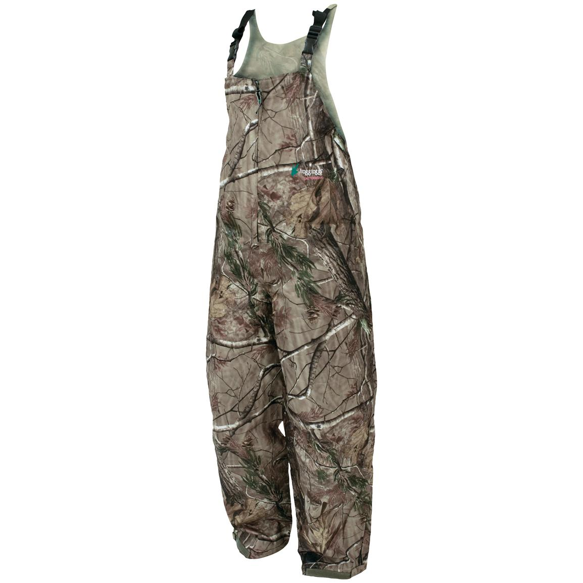 frogg toggs® ToadSkinz™ Waterproof / Breathable Camo Bib Overalls, Realtree® AP