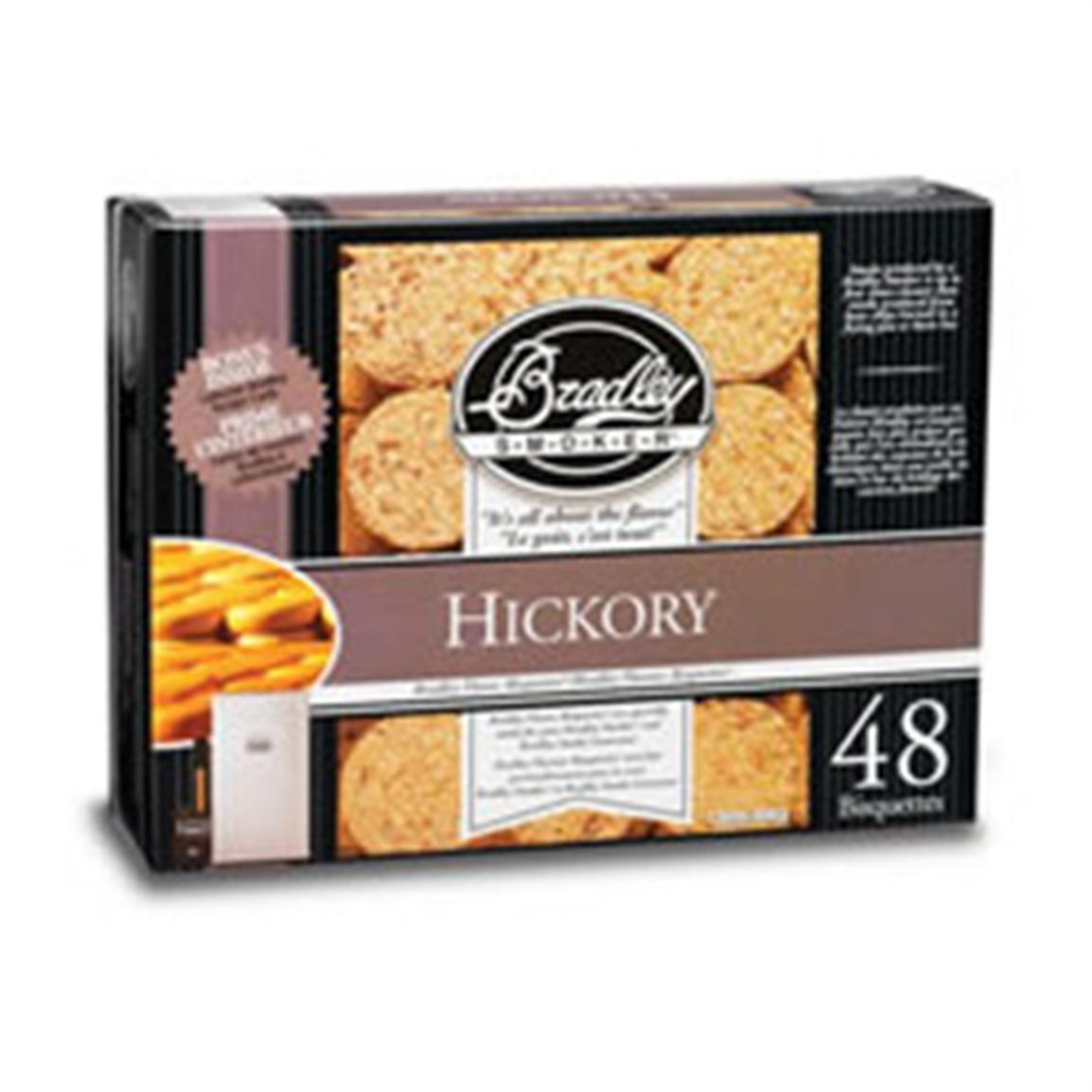 48-Pk. of Bradley® Hickory Flavor Bisquettes