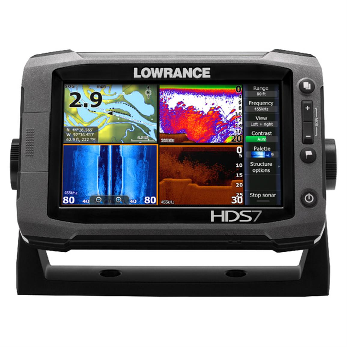 Lowrance® HDS-7 Gen 2 Touch Fishfinder & GPS Chartplotter with Insight USA™ Maps