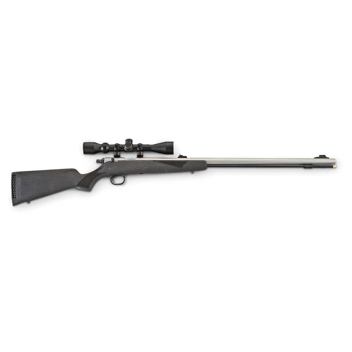 Bighorn .52 cal. Muzzleloader Rifle with 3-9x40mm Scope Package