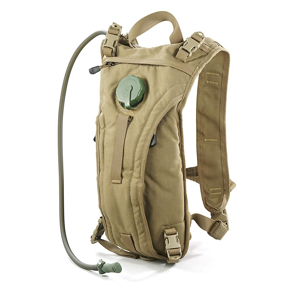 New Hydration Pack, Coyote Tan