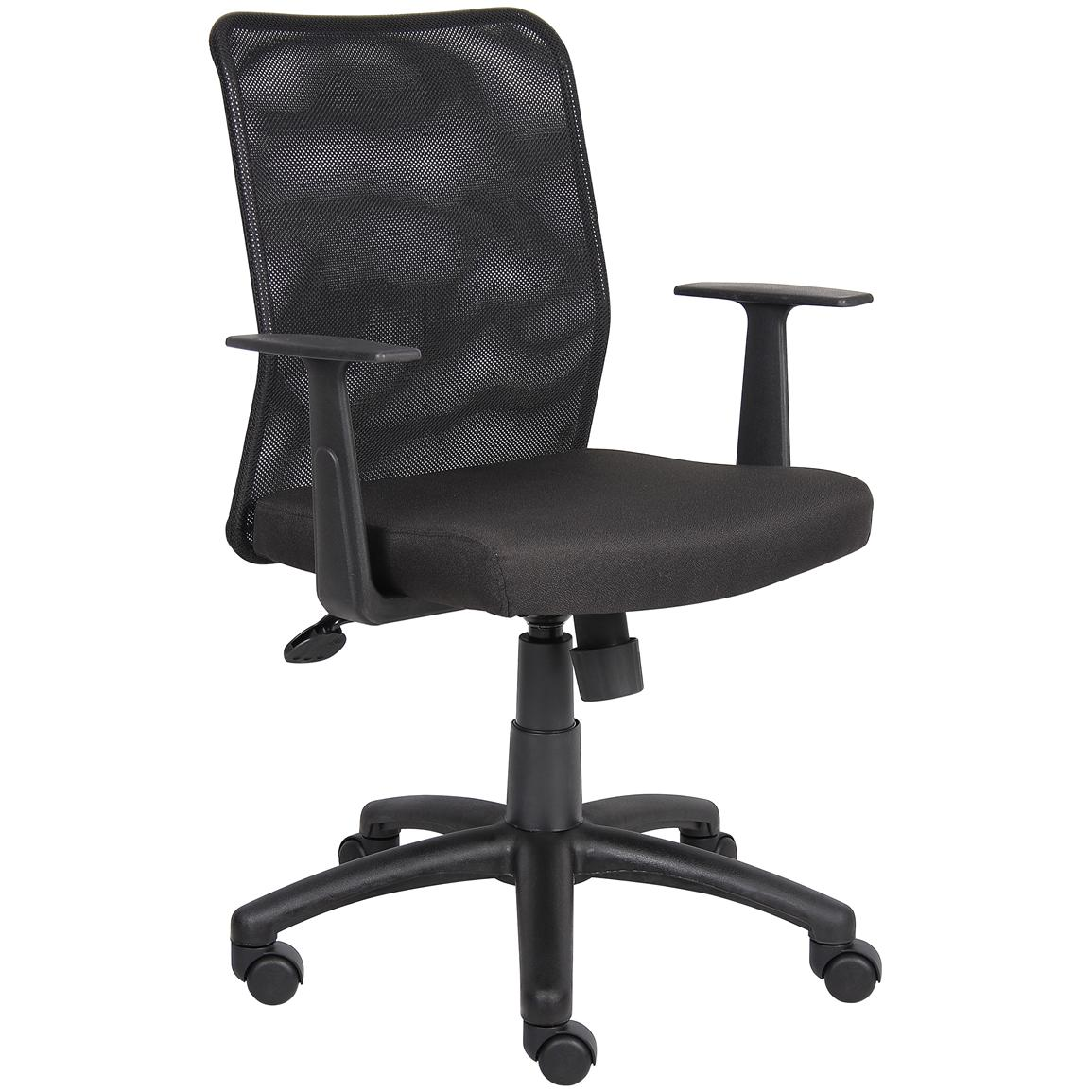 Boss™ Budget Mesh Task Chair with Armrests