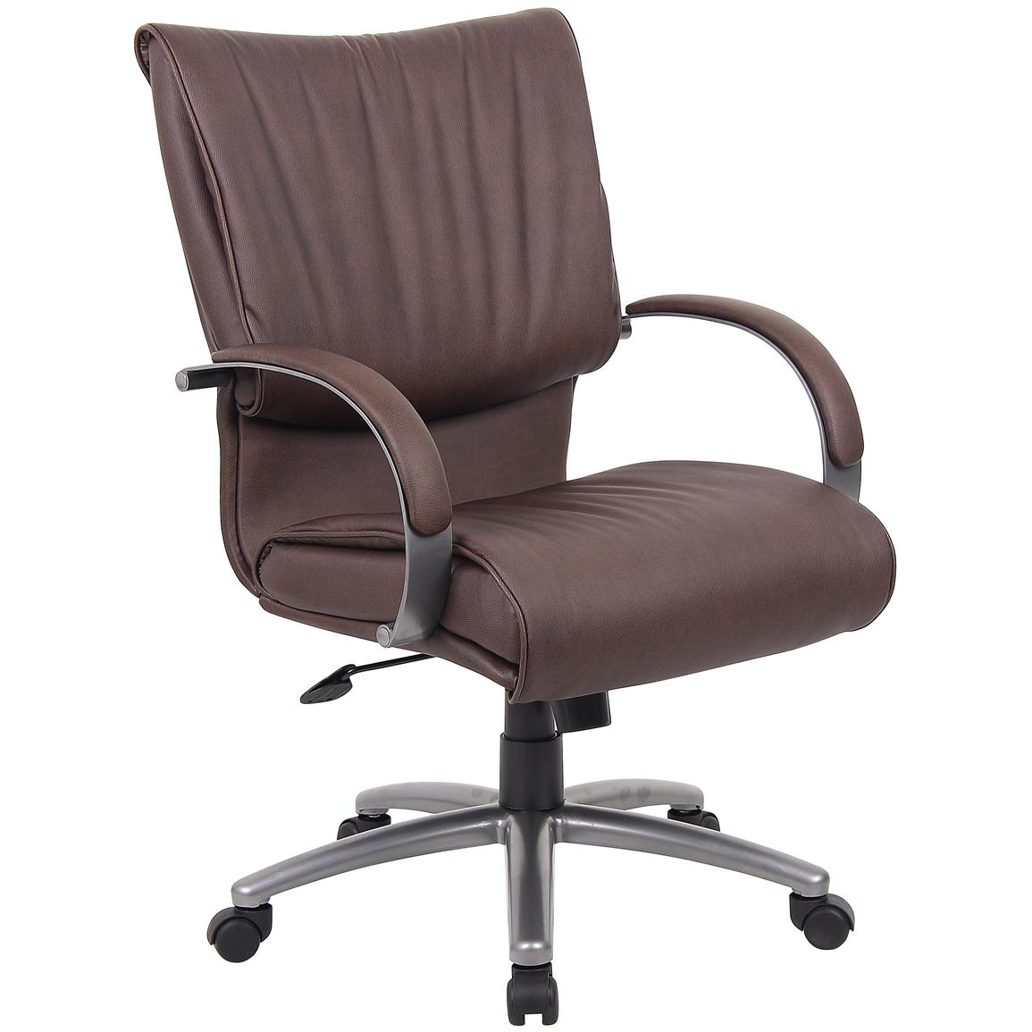 Boss™ Mid Back LeatherPlus Office Chair
