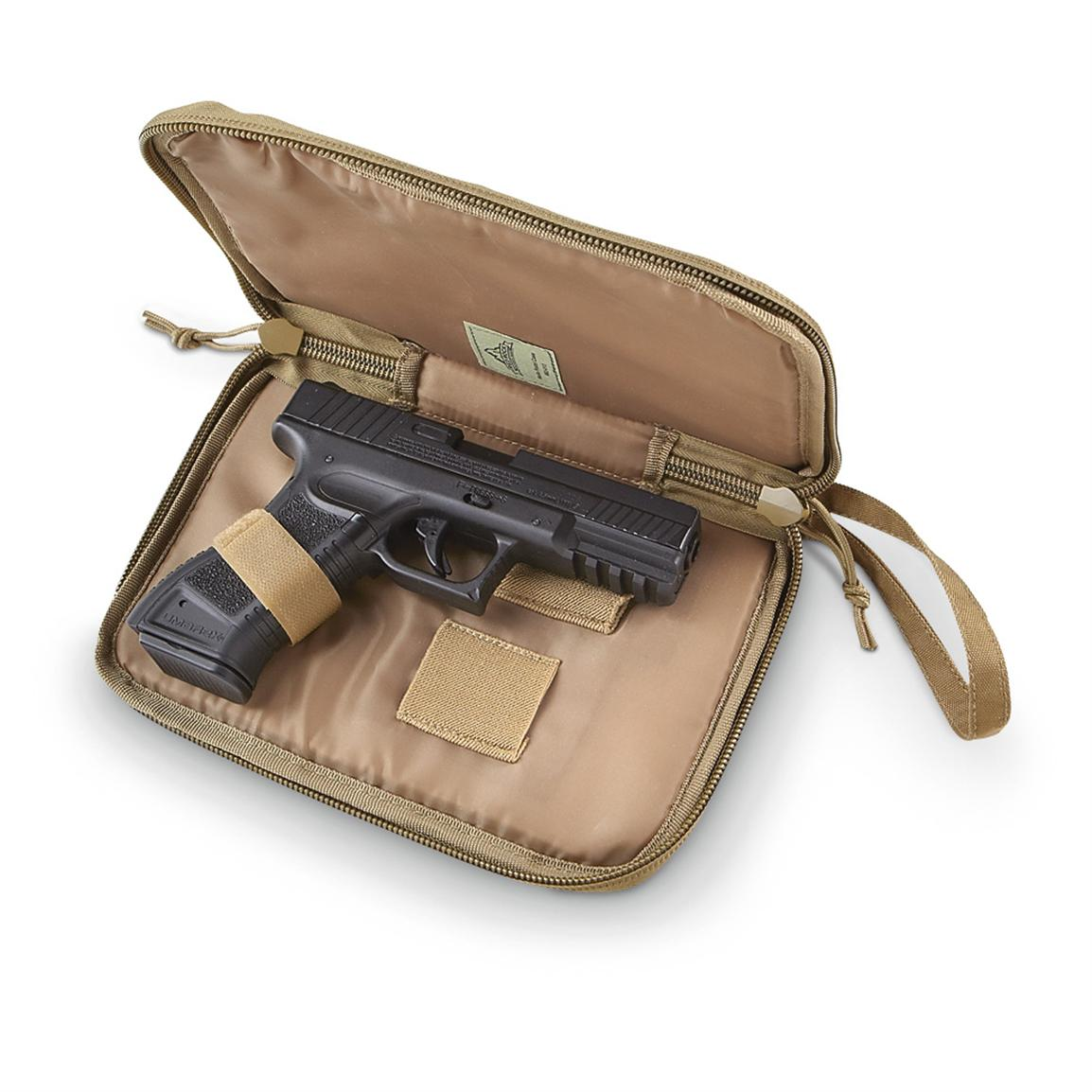 Red Rock™ M.O.L.L.E. Pistol Case, Coyote Tan