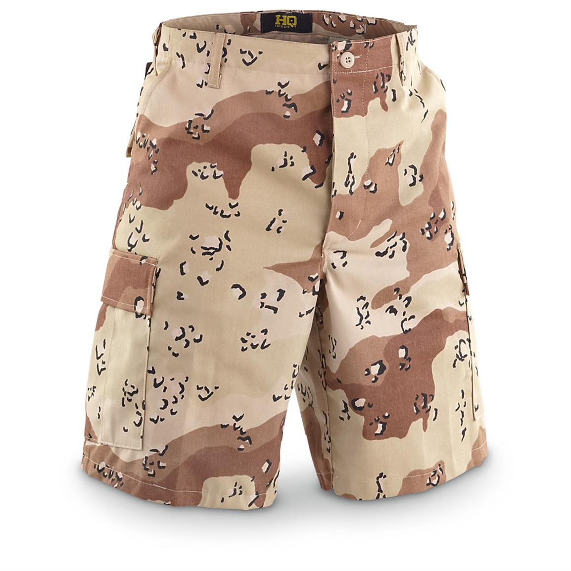 HQ ISSUE™ BDU Shorts, 5-color Desert Camo