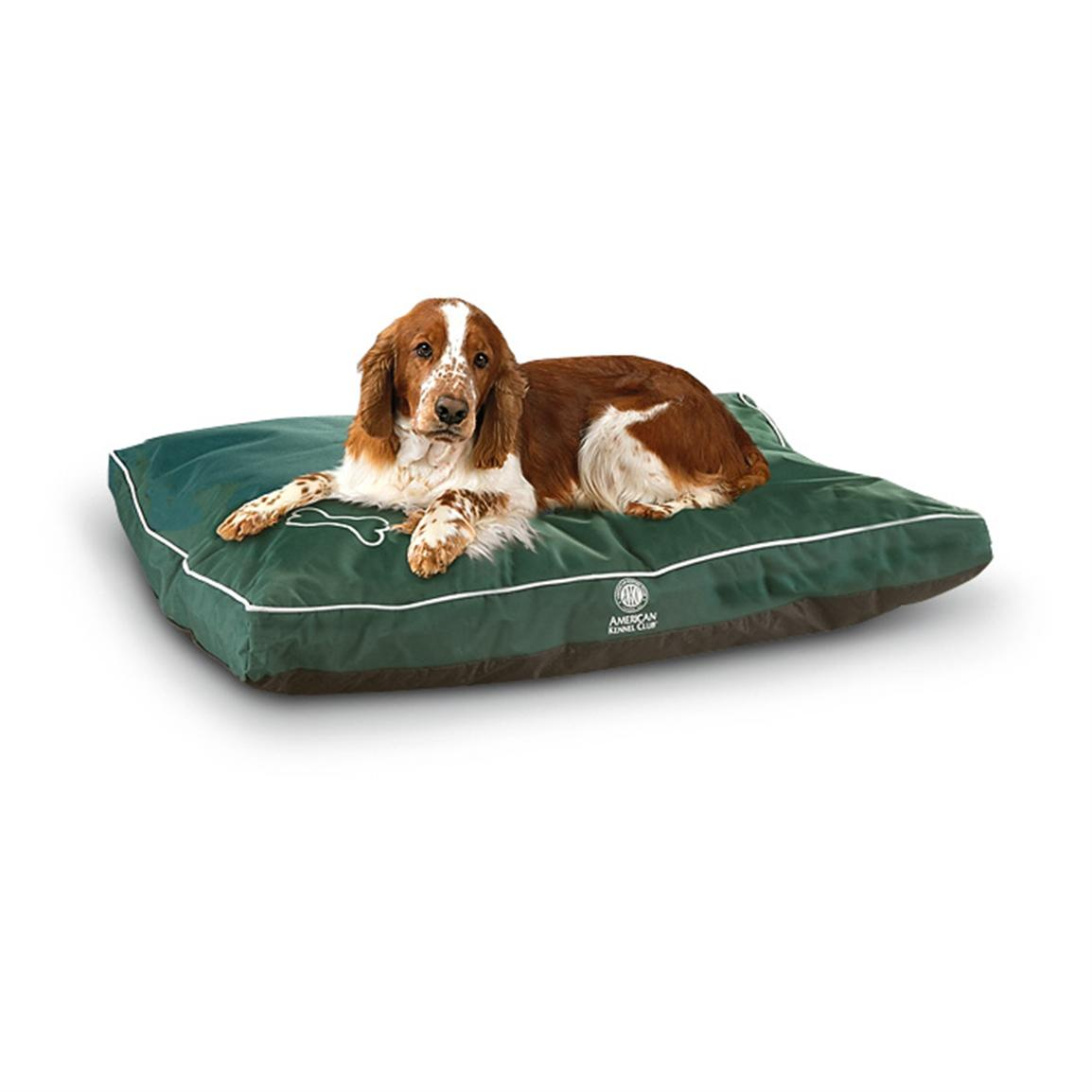 AKC® Water-resistant Dog Bed