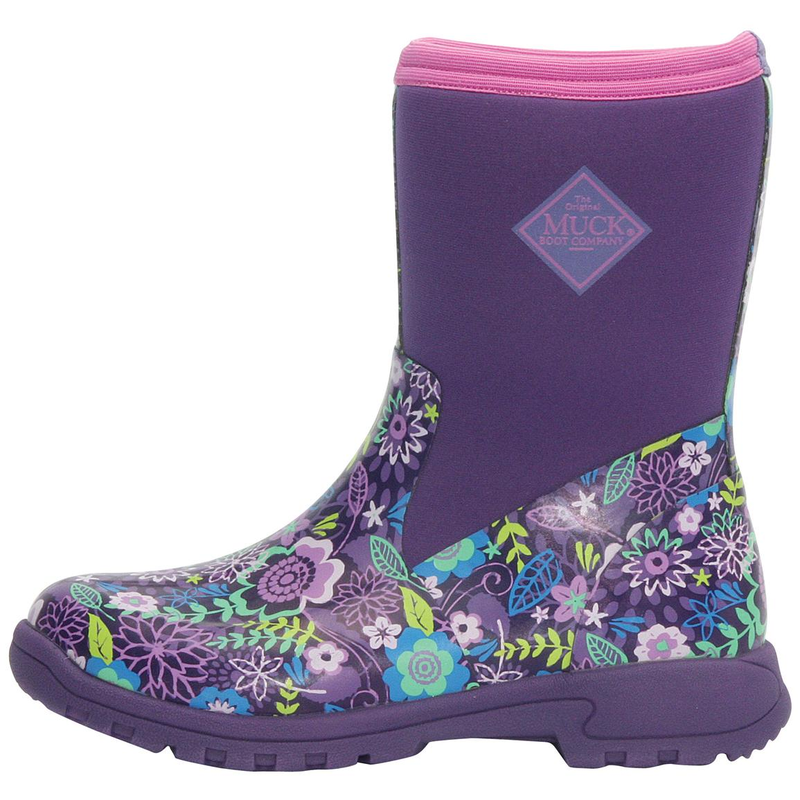 Women S Muck Boot Company Breezy Mid Cool Print Boots