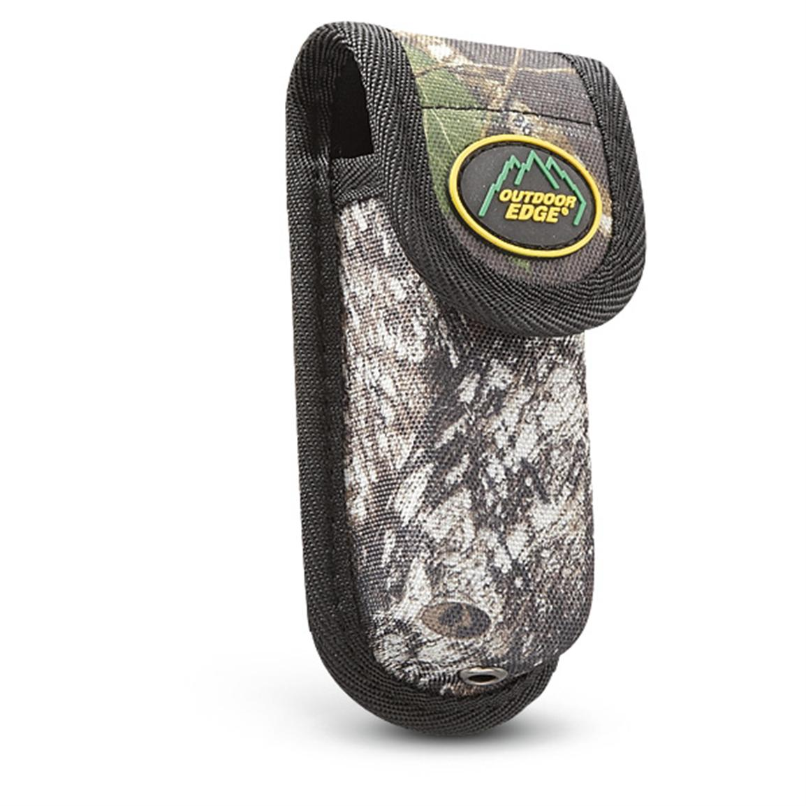 Comes with Camo nylon sheath