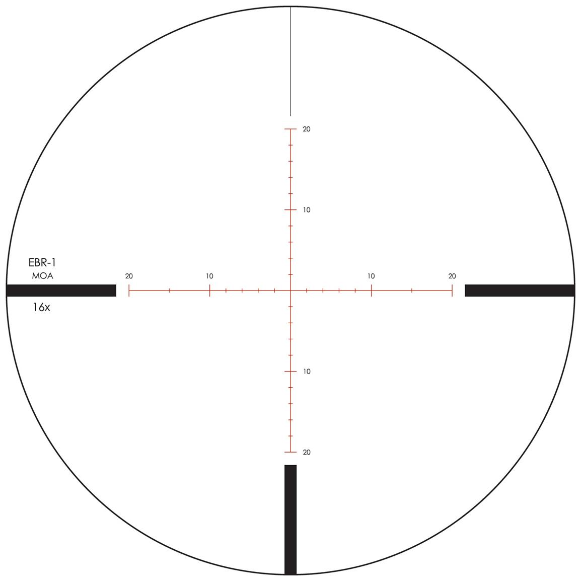 MOA Reticle