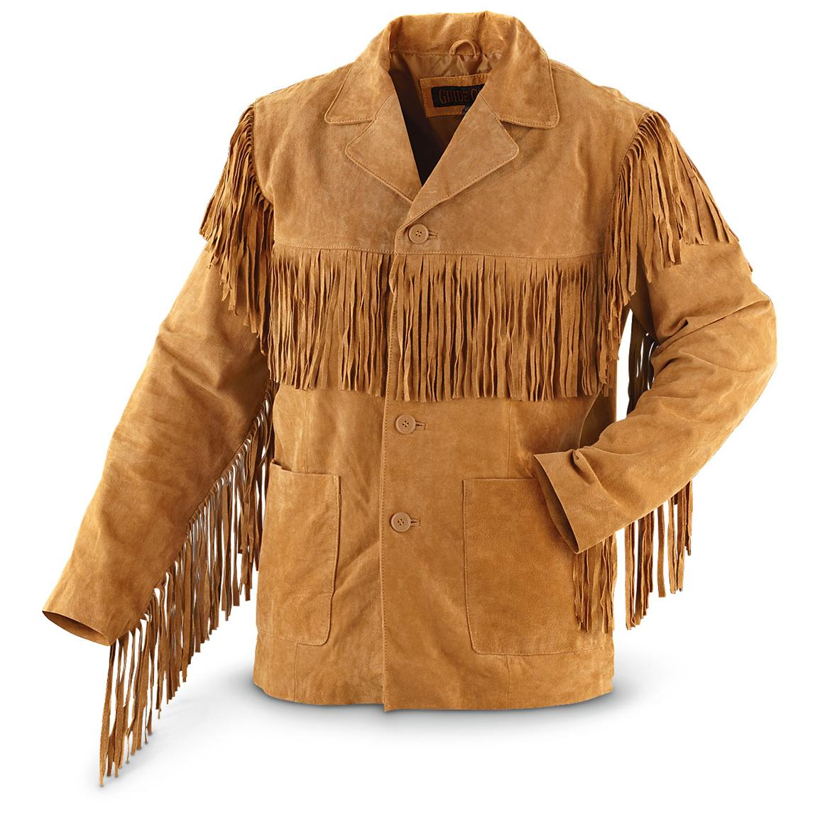 Guide Gear® Western Fringe Jacket, Tan