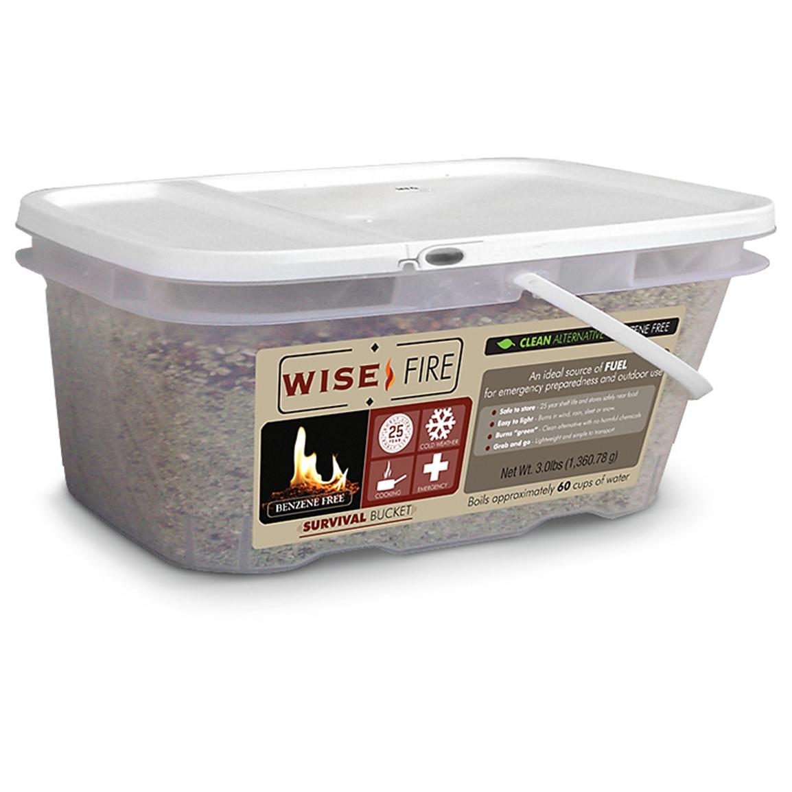 WiseFire Fuel Source, 60 cups
