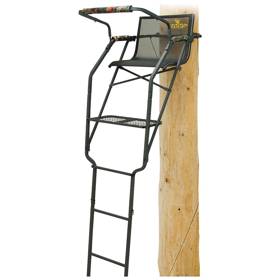 Rivers Edge® Relax™ Wide Ladder Tree Stand