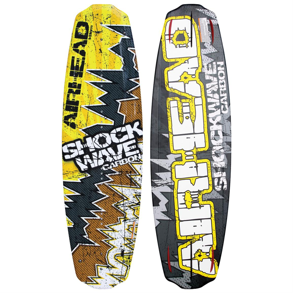 Airhead® Shockwave Carbon Wakeboard