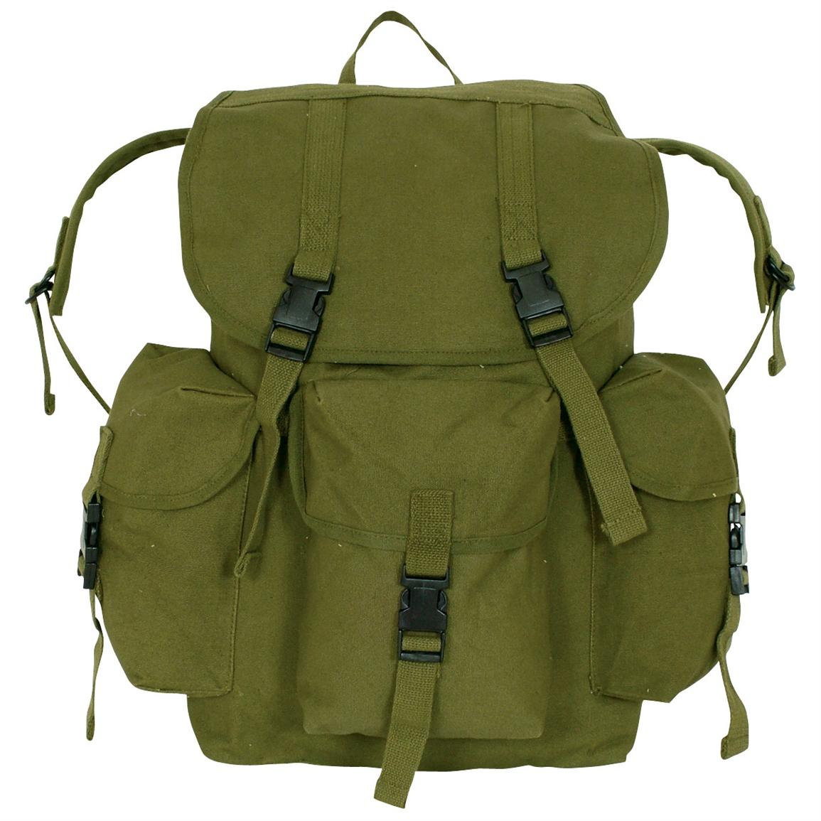 Fox Outdoor™ Dakota Backpack, Olive Drab