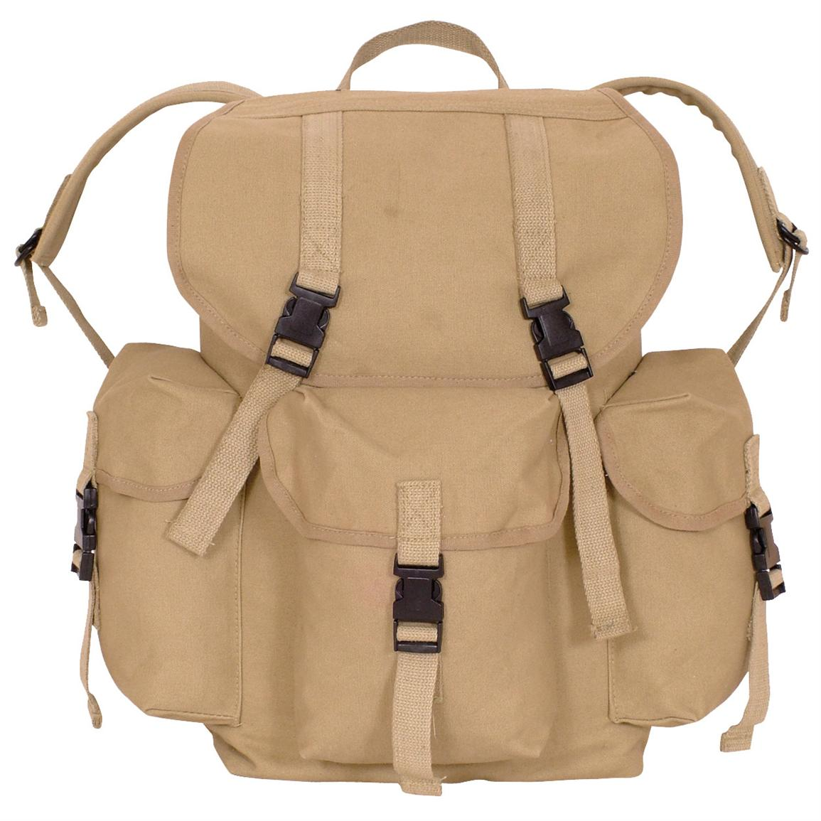 Fox Outdoor™ Dakota Backpack, Khaki