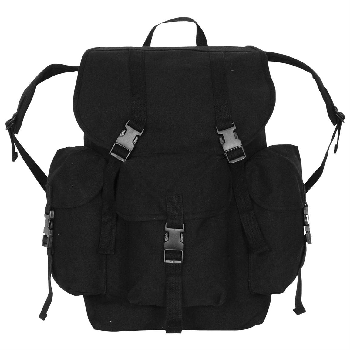 Fox Outdoor™ Dakota Backpack, Black