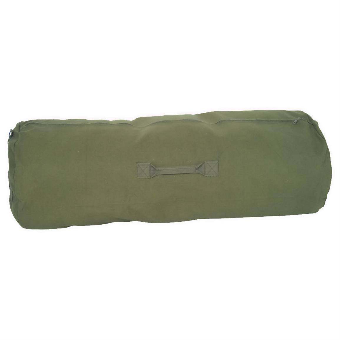 Fox Outdoor GI-Style Duffel Bag, Olive Drab