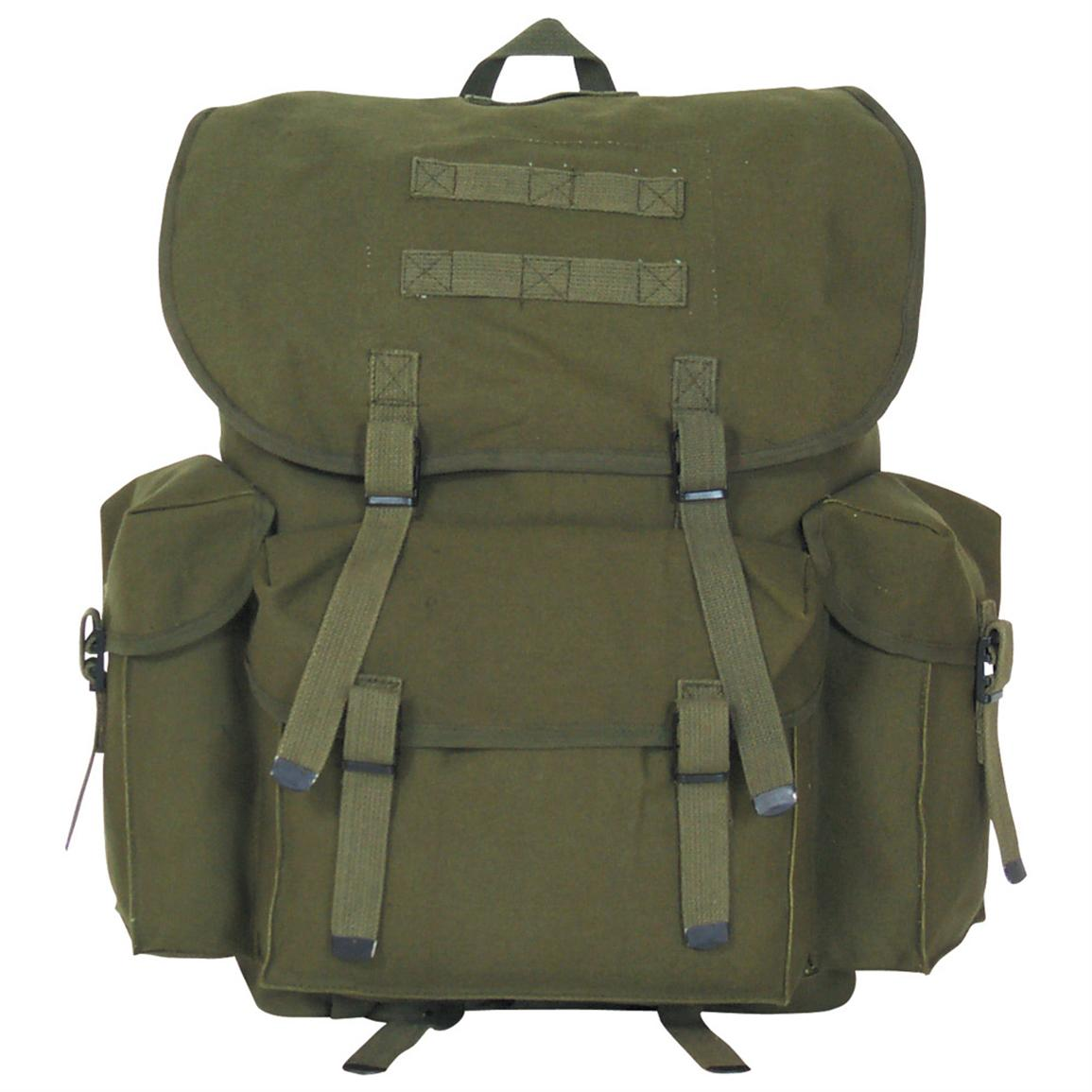 "Fox Outdoor™ NATO-style 19x12"" Backpack, Olive Drab"