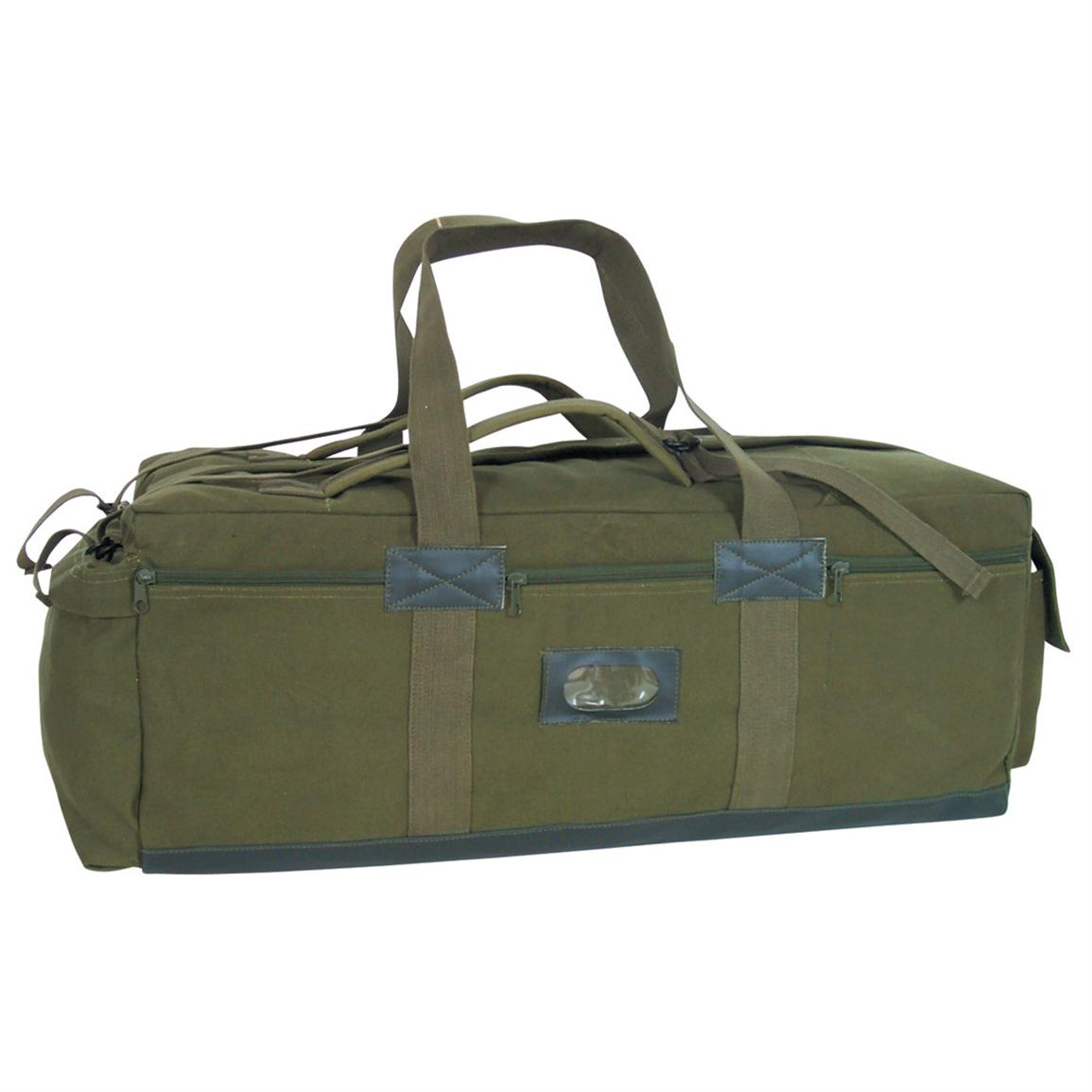 Fox Outdoor™ IDF Military-style Tactical Bag, Olive Drab