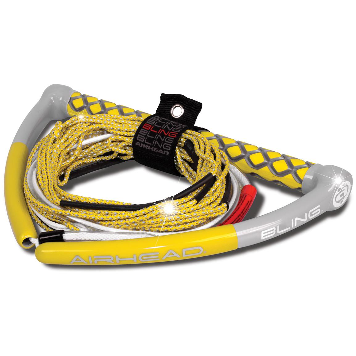 Airhead® Bling Spectra 75' Wakeboard Tow Rope, Yellow