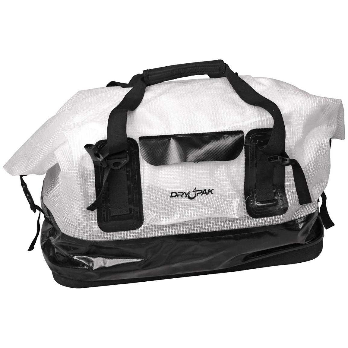 Dry Pak Waterproof Roll-top Duffel Bag, Clear