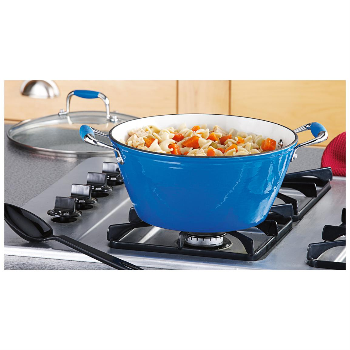 Michelle B. Cast Iron Lite 5-qt. Soup Pot