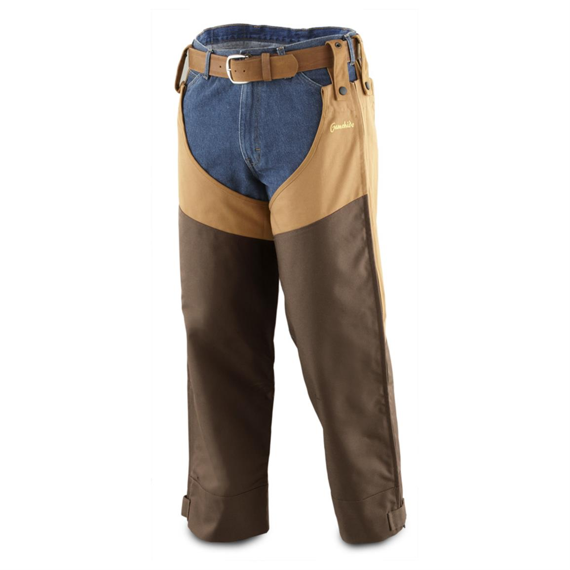 Gamehide® Briar-Proof Chaps, Marsh Brown